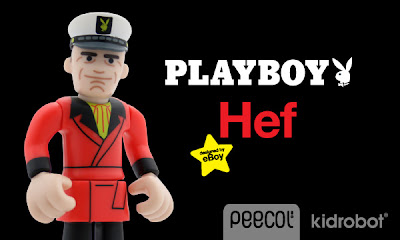 Kidrobot - The Playboy Hugh Hefner Peecol Vinyl Figure