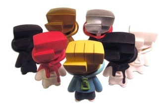 kaNO's Line of Moneygrip Designer Vinyl Figures