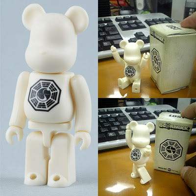 Lost - Diamond Exclusive 100% Dharma Be@rbrick Vinyl Figure