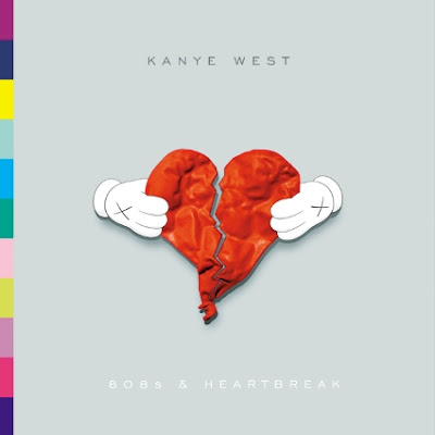 Kanye West - 808s & Heartbreak iTunes Exclusive Album Cover by KAWS