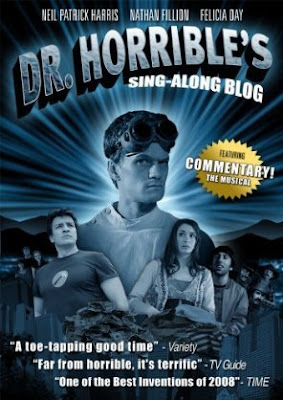 Dr. Horrible's Sing-Along Blog DVD Cover