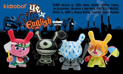 Kidrobot - Ye Olde English UK Dunny Series
