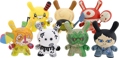 Kidrobot - Ye Olde English UK Dunny Series 3 Inch Vinyl Figures