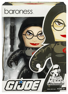 G.I. Joe Mighty Muggs Wave 2 - Baroness Mighty Mugg in Package