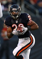 Chicago Bears Rookie Running Back Matt Forte