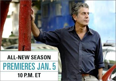 Anthony Bourdain: No Reservations - Season 5 Season Premiere in Mexico on Monday, January 5, 2009