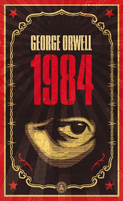 George Orwell x OBEY Giant Print Set - 1984 Book Cover by Shepard Fairey