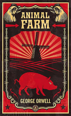 George Orwell x OBEY Giant Print Set - Animal Farm Book Cover by Shepard Fairey