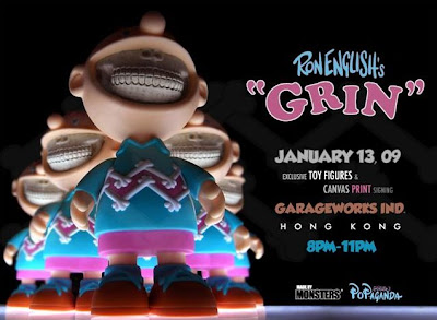 Ron English - Charlie Grin Designer Vinyl Figure Release Party