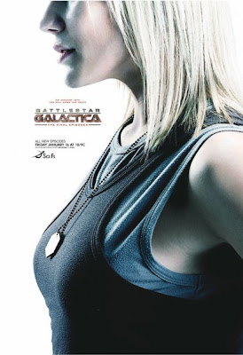 Battlestar Galactica Season 4.5 Television Character Posters - Katee Sackhoff as Kara 'Starbuck' Thrace