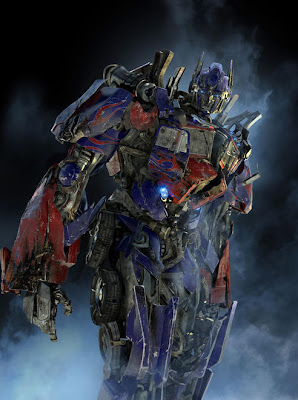 Transformers: Revenge of the Fallen First Look - Battle Damaged Optimus Prime
