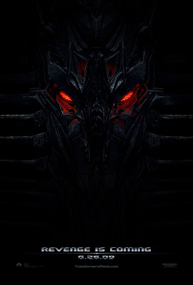Transformers: Revenge of the Fallen Teaser Movie Poster