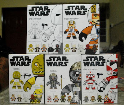 Future Star Wars Mighty Muggs Releases For 2009 - Waves 8 and 9 Back
