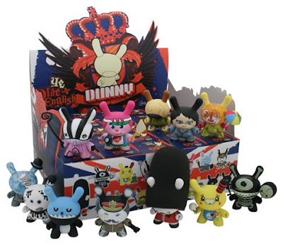 A Case of Ye Olde English UK Dunny Series Blind Boxes