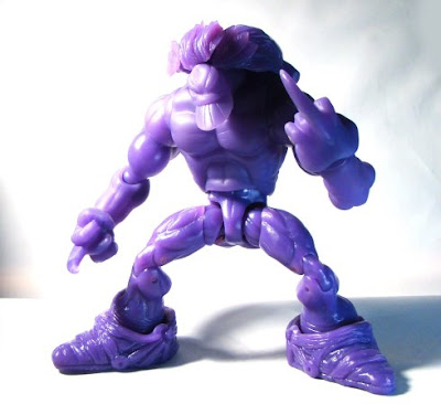 Shocker Toys Indie Spotlight - Sam Keith's the Maxx New York Comic Con 2009 Exclusive Translucent Action Figure