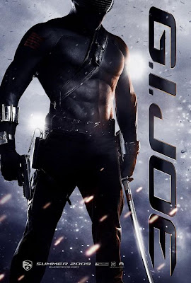 G.I. Joe: Rise of Cobra Character Movie Posters Set 2 - Ray Park as Snake Eyes