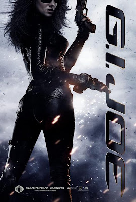 G.I. Joe: Rise of Cobra Character Movie Posters Set 2 - Sienna Miller as The Baroness