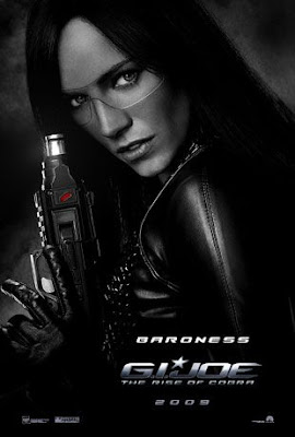 G.I. Joe: Rise of Cobra Character Movie Posters Set 1 - Sienna Miller as The Baroness
