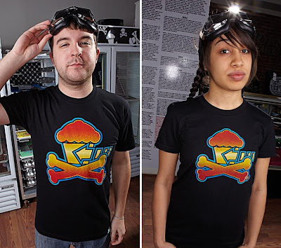 Johnny Cupcakes x Back to the Future T-Shirts - Black Back to the Kitchen T-Shirt