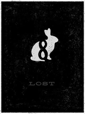LOST Screen Print Series 3 - Bunny by Ty Mattson