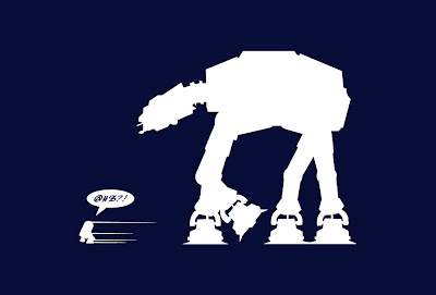 Star Wars Run R2 T-Shirt by SplitReason.com
