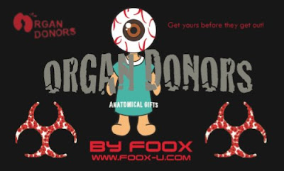 Organ Donors by FOOX Blind Box Vinyl Series