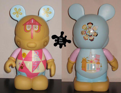 Disney's Vinylmation Park Series 1 - It's A Small World 9 Inch Mickey Mouse Vinyl Figure by Monty Maldovan