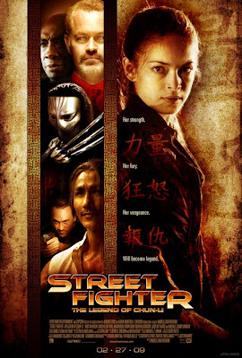 Street Fighter: The Legend of Chun-Li Final Theatrical One Sheet Movie Poster