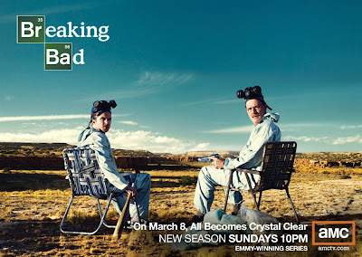 Breaking Bad Season 2 Television Poster - On March 8th All Becomes Crystal Clear