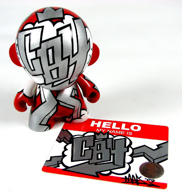 CB4 Custom Munny by MAD for Toronto Raptors Superstar Chris Bosh