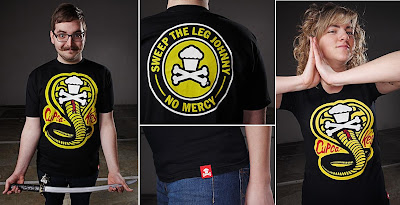 Johnny Cupcakes x The Karate Kid - Karate Cakes T-Shirt