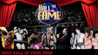 The 2009 WWE Hall of Fame Inductees - Ricky The Dragon Steamboat, Cowboy Bill Watts, Koko B. Ware, Stone Cold Steve Austin, Howard Finkel, Terry Funk & Dory Funk Jr. and The Von Erichs