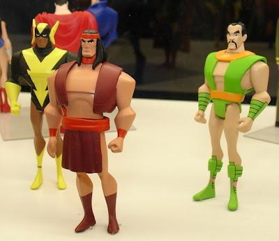 the blot says jlu super friends action figure 3 pack apache