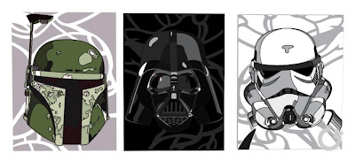 Star Wars - The Three Amigos by David Flores