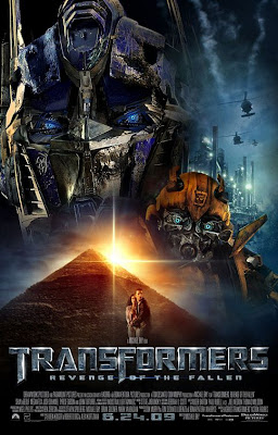 Transformers: Revenge of the Fallen Final Theatrical One Sheet Movie Poster