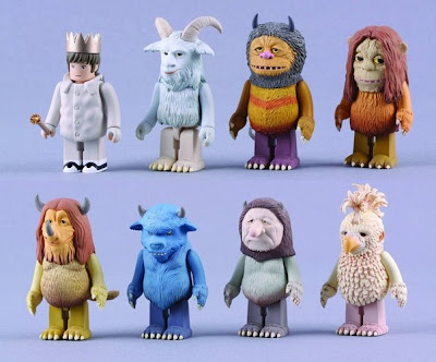 Where The Wild Things Are Kubrick Vinyl Figure Series by Medicom