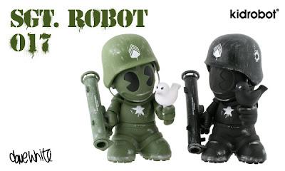 Kidrobot - Sgt. Robot: Kidrobot Mascot 17 by Dave White
