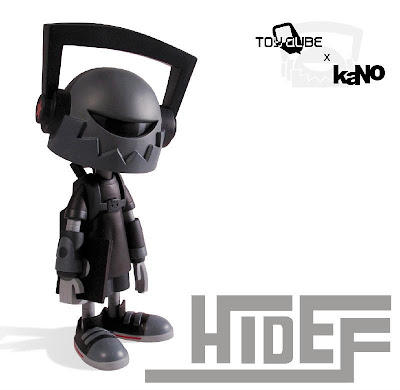 ToyQube - Hi-Def OG Colorway Vinyl Figure by kaNO