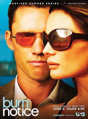 Burn Notice Season 3 Television Poster