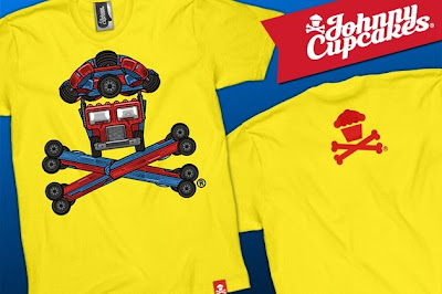 Johnny Cupcakes x Transformers: Revenge of the Fallen AutoBones T-Shirt