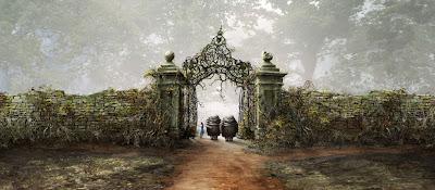 Tim Burton's Alice In Wonderland First Look - Alice and Tweedledee & Tweedledum