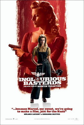 Inglourious Basterds Character Movie Posters Set 2 - Melanie Laurent is Shosanna Dreyfus