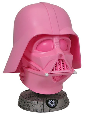 San Diego Comic Con 2009 Pink Edition Darth Vader Helmet Bust by Gentle Giant
