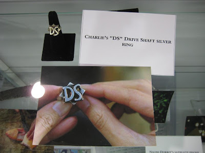 Lost: The Auction - Charlie's DS Drive Shaft Silver Ring