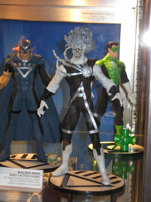 DC Direct – Blackest Night Series 4 Action Figures - Black Hand, Black Lantern Firestorm & Green Lantern Kyle Rayner