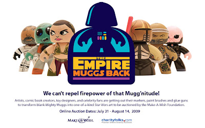 The Empire Muggs Back - Custom Star Wars Mighty Muggs Charity Auction