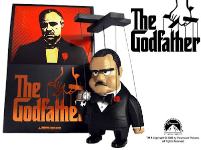 Michael Lau x MINDstyle The Godfather Marionette Art Toy Collectible Vinyl Figure