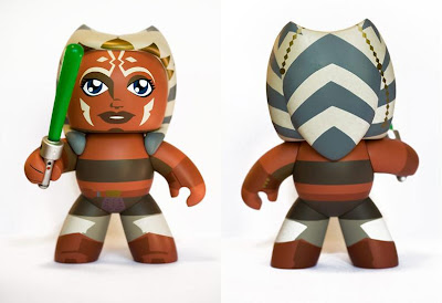 The Empire Muggs Back Charity Auction - Ahsoka Unproduced Prototype Mighty Mugg by Chris Hicks, Hasbro's Mighty Mugg Overlord