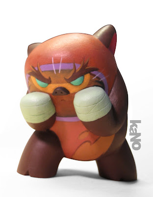 Argonaut Resin - kaNO X Lord Mesa Hand Painted Custom Ewok Kalua Moola Resin Figure