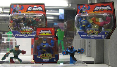 Batman: The Brave and the Bold Action League Action Figures
